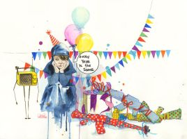 UNHAPPY B-DAY by lora-zombie