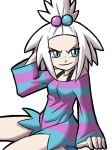 Poison Type Gym Leader Homika by rongs1234