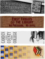 Library Bookmarks by clayangel