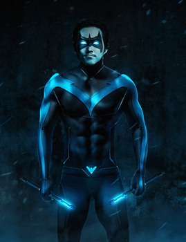 Nightwing Movie (Steven Yeun) by ehnony