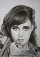 Katy Perry portrait by imnotjustakid