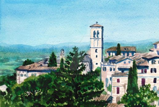 Assisi by Theophilia