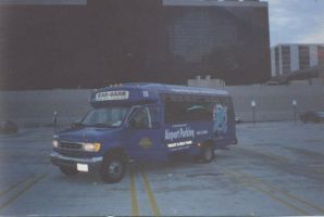 the shuttle I drove to and from LAX  in 98 to 00 by billoon45