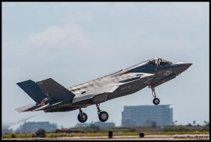 F-35 Takeoff II by AirshowDave