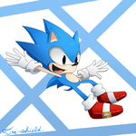 lil' sonic by Tri-shield