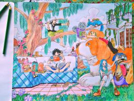 A Quiet Afternoon in Alabasta by Akane1901
