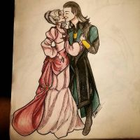 Loki and Adrina by IzzabellaBlack