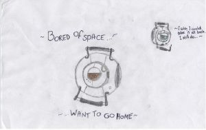 First Sketch: Space Core by MisterKage