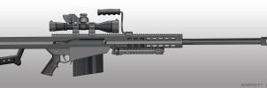 Barrett m107 by pabumus