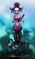 03. The Octopus Witch by ZAQUARD