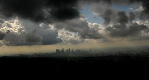 City in the Clouds by AndySerrano