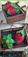 Strawberries maracas by ftourini