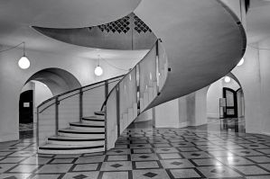 Tate Britain staircase by aglezerman