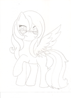 FLower coltfriend as a female by Ponyness1