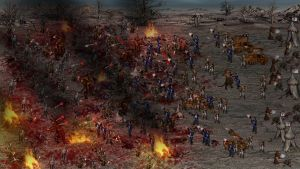 Heroes of might 3 epic battle scene by AlexandrMalevich