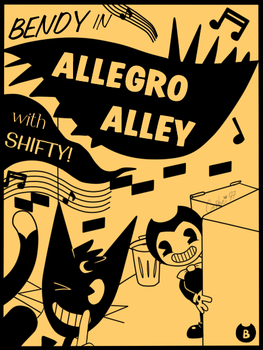 Allegro Alley Poster by Cephei97