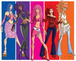 Jem and The Holograms 2005 by animatorsc