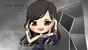 SNSD TIFFANY THE BOYS by squeegool