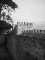 castle Lisbon by angelofrock