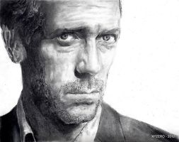 House MD, Hugh Laurie by xpzero