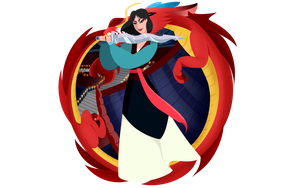 Princess Collection: Mulan by Karra-shi