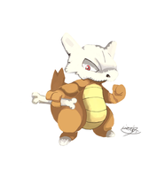 SkullBone The Marowak by LizardonEievui13