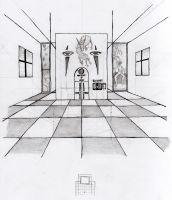 Checkerboard Hall by kalistina
