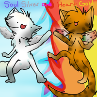Heart Gold and Soul Silver by SoftcloudRC