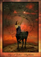 Sign of Zodiac - Sagittarius by Iribel