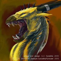 """Cyrakhis """"Rage Face"""" Icon by LeccathuFurvicael"""