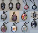 Reproduction pendants by thedancingemu