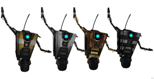 Borderlands 2: Claptrap/CL4P-TP [UPDATED]. by OGLoc069
