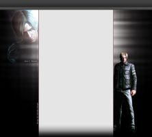 RE6 Leon Kennedy 3.0 YouTube Layout by FadedBlackangel