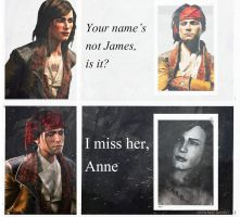 James Kidd/Mary Read from Assassin's Creed IV by JulietAuditore