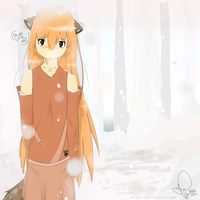 Fox Girl : coloured by Yuzas
