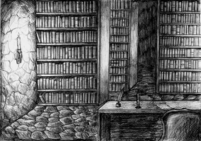 Library by AkaiSoul