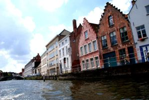 Brugge Canal by Mcnicky