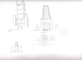 TJH Dragon Tower Concept by NewLegend1