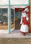 Taoma Avvy Hatter's Shop by Foxxeh