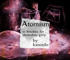 Atomism Brushes by kanonliv