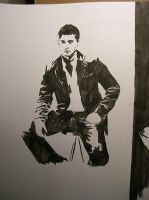 jensen ackles by InnocentShinji