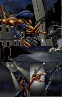 Nighttime spideysequence by LP by TheNass