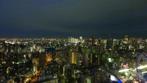 Night view of Tokyo by guntama
