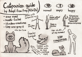 Catpanion Guide (Closed Species) by Adopt-From-Frog