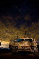 Humvee by Night by thesolitary