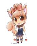 Chibi Commission : Cutesy Little ffffffuuuuuuu by Marini4