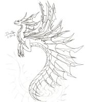 Fai Dragon WIP by ILuvOden