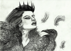 Snow White and the Huntsman by Celairen