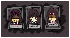 Baudelaire Orphans by cippow25