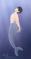Merman Haru by ardnemla